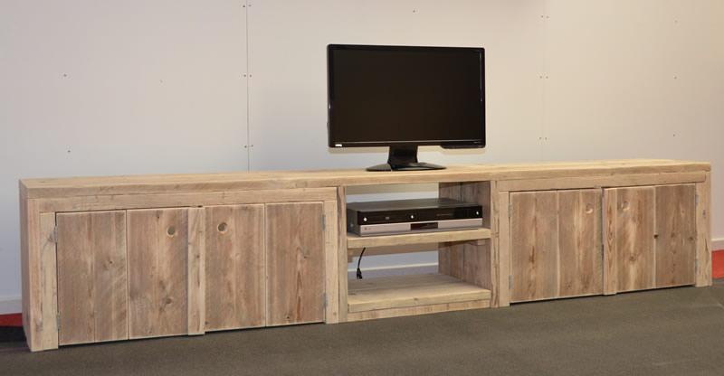 Steigerhouten tv meubel maastricht k k haanstra for Steigerhout tv meubel maken